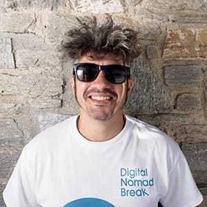 tiziano salerno digital nomad break