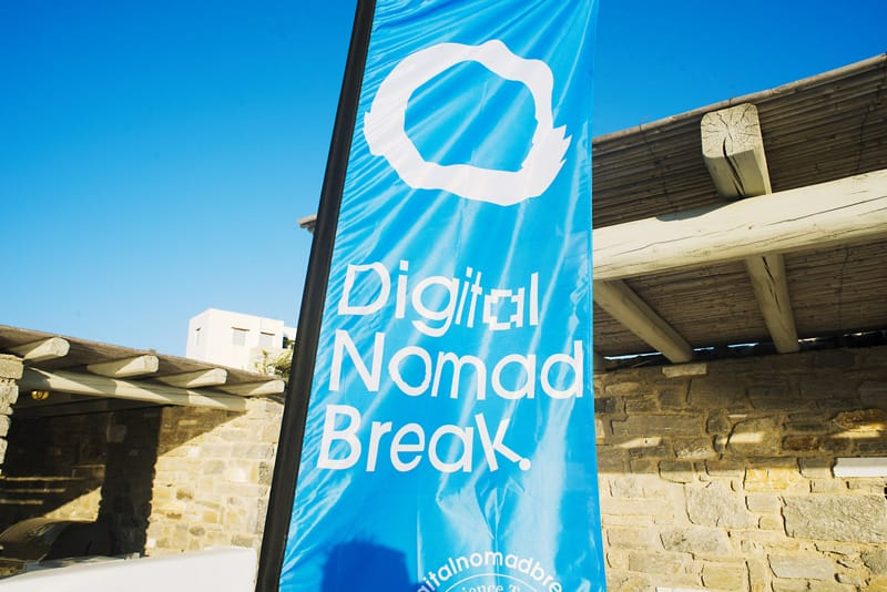 digital nomad break about